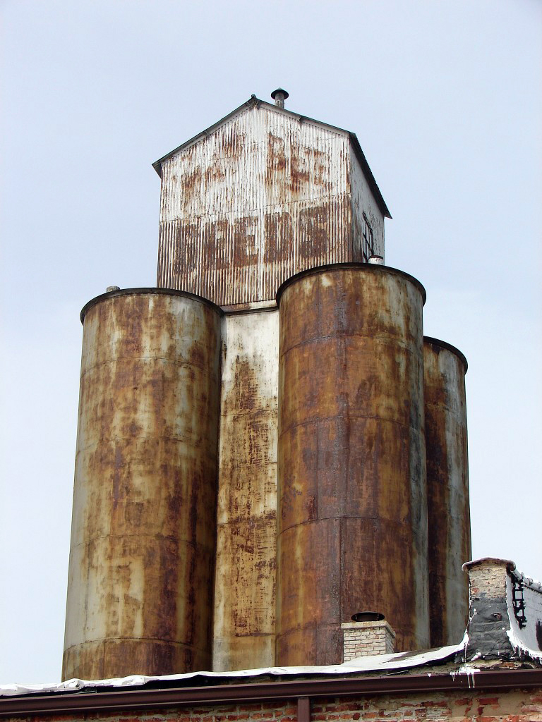 Former Kahn Greene Grain Bin – 43rd and Halsted