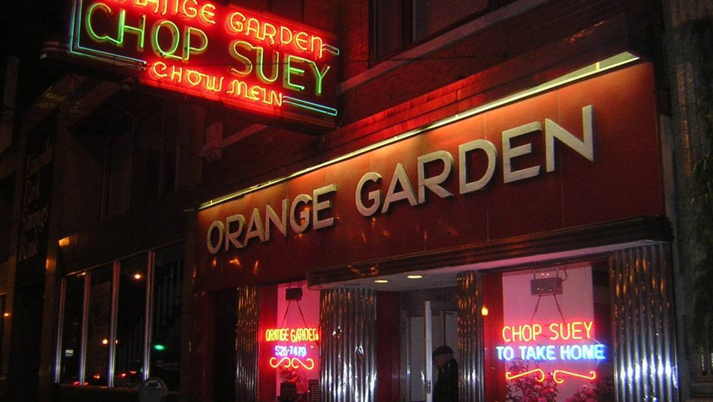 The Orange Garden, est. 1936